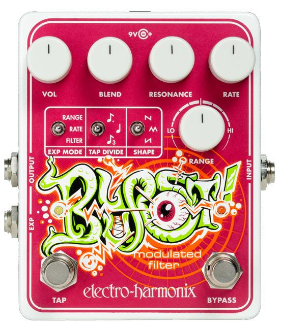 【純正アダプター付属】【正規品】electro-harmonix Blurst Modulated Filter 新品[エレクトロハーモニクス,エレハモ][ブラースト][Modulation,モジュレーション][フィルター][Effector,エフェクター][動画]