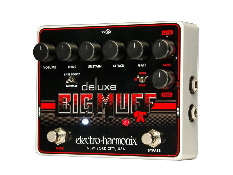 【正規品】electro-harmonix Deluxe Big Muff 新品 デラックスビッグマフ[エレクトロハーモニクス][Fuzz,ファズ][Distortion,ディストーション][Effector,エフェクター]