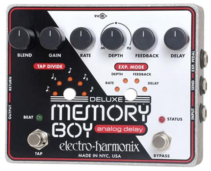 【正規品】electro-harmonix Deluxe Memory Boy 新品 アナログディレイ[エレクトロハーモニクス][デラックスメモリーマン][ボーイ][Analog Delay][Effector,エフェクター]