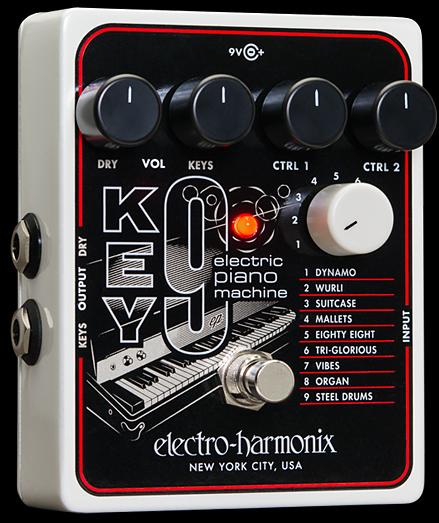 【アダプター付】【正規品】electro-harmonix KEY9 Electric Piano Machine 新品[エレクトロハーモニクス][キー9][エレクトロピアノマシーン][Effector,エフェクター]