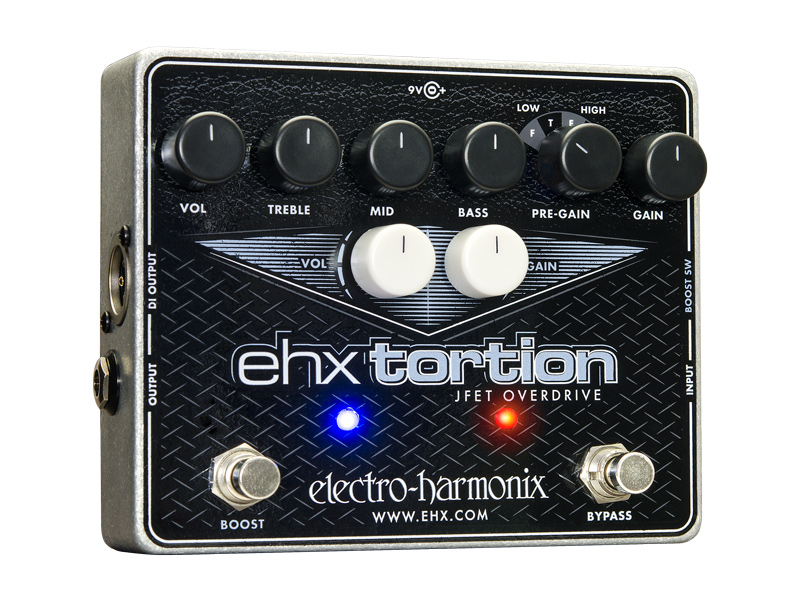 【正規品】electro-harmonix EHX Tortion 新品 オーバードライブ/ディストーション[エレクトロハーモニクス][Overdrive][Distortion][Effector,エフェクター]