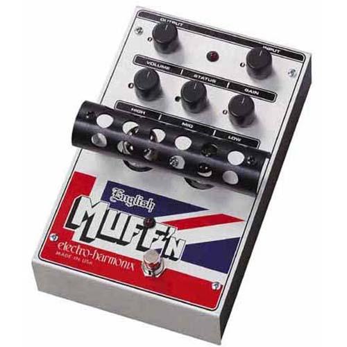 【正規品】electro-harmonix English Muff'n 新品 イングリッシュマフ[エレクトロハーモニクス][真空管搭載][Tube Distortion,チューブディストーション][Effector,エフェクター]