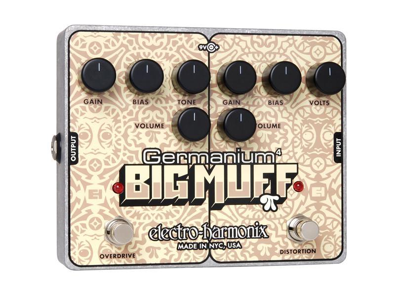 【正規品】electro-harmonix Germanium 4 Big Muff 新品 ゲルマニウムビッグマフ[エレクトロハーモニクス][Distortion,ディストーション][Overdrive,オーバードライブ][Effector,エフェクター]