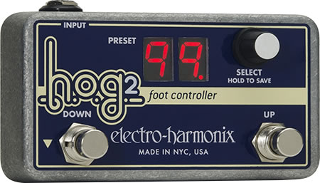Electro-Harmonix own H.O.G.2 footcontroller new [stompbox], [HOG2], [Foot Controller] [Effector, effector]