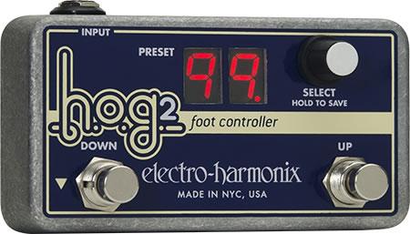 【正規品】electro-harmonix H.O.G.2 専用フットコントローラー 新品[エレクトロハーモニクス][HOG2][Foot Controller][Effector,エフェクター]