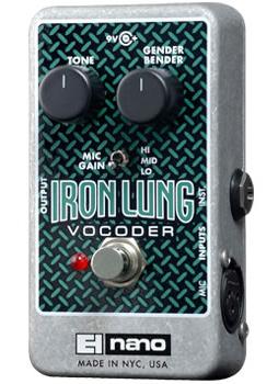 【正規品】electro-harmonix Iron Lung 新品 ボコーダー[エレクトロハーモニクス][アイアンラング][Vocoder][Effector,エフェクター]