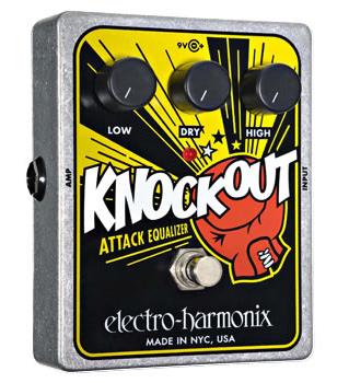 【正規品】electro-harmonix Knockout 新品 イコライザー[エレクトロハーモニクス][ノックアウト][Equalizer][Effector,エフェクター]