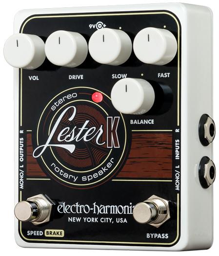 【純正アダプター付属】【正規品】electro-harmonix Lester K 新品 ステレオロータリースピーカー[エレクトロハーモニクス][Stereo Rotary Speaker][Effector,エフェクター][動画]