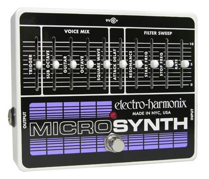 【正規品】electro-harmonix Micro Synth 新品 マイクロシンセ[エレクトロハーモニクス][Effector,エフェクター]