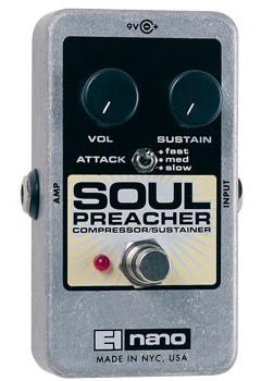 【正規品】electro-harmonix Soul Preacher 新品 コンプレッサー/サスティナー[エレクトロハーモニクス][ソウルプリーチャー][Compressor,Sustainer][Effector,エフェクター]