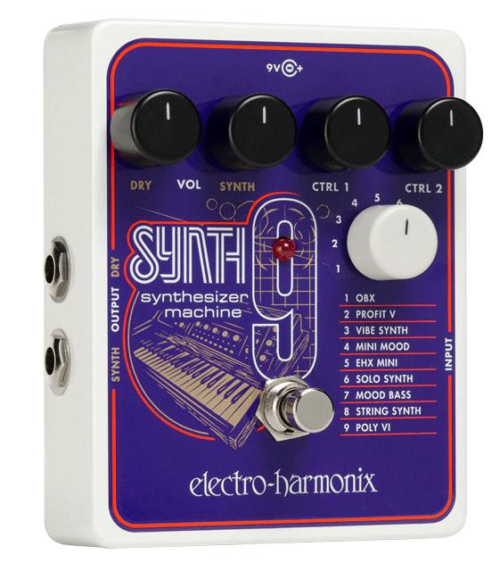 【純正アダプター付属】【正規品】electro-harmonix SYNTH9 Synthesizer Machine 新品[エレクトロハーモニクス,エレハモ][シンセサイザーマシン][Effector,エフェクター]