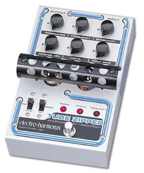 【正規品】electro-harmonix Tube Zipper 新品 ディストーション 真空管搭載[エレクトロハーモニクス][チューブジッパー][Distortion][Auto Wah,オートワウ][Effector,エフェクター]