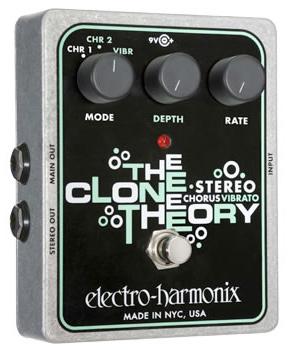 新品登場 【正規品 Clone 新品】electro-harmonix The The Clone Theory 新品 Stereo Chorus/Vibrato[エレクトロハーモニクス][クローンセオリー][ステレオコーラス][ビブラート][Effector,エフェクター], Afternoon Tea TEAROOM Web Store:4516cc1e --- clftranspo.dominiotemporario.com