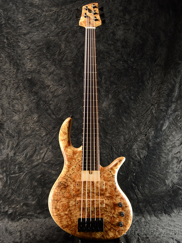 elrick Gold Series E-volution SLC 5 -Spalted Maple- 新品[エルリック][ゴールドシリーズ][エボリューション][スティーブ・ローソン][スポルテッドメイプル][5strings,5弦][Electric Bass,エレキベース]