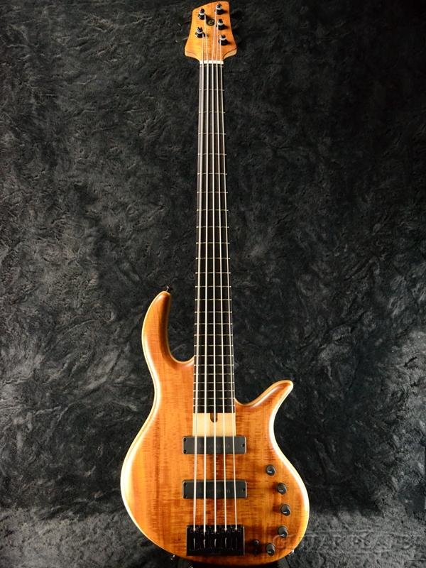 【中古】elrick Gold Series E-volution 5st -Figured Koa Top/Swamp Ash Back- 2017年製[エルリック][ゴールドシリーズ][コア][5strings,5弦][Electric Bass,エレキベース]【used_ベース】