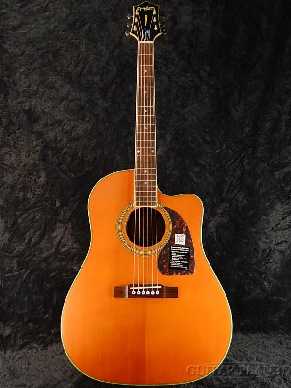 Epiphone Masterbilt AJ-500RCE Natural Satin 新品[エピフォン][AJ500RCE][ナチュラルサテン][Electric Acoustic Guitar,アコースティックギター,エレアコ]