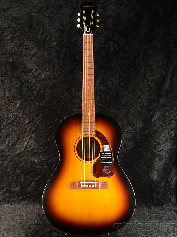 【トップ単板仕様】Epiphone Caballero Artist 新品 Vintage Sunburst Satin[エピフォン][サンバーストサテン][Acoustic Guitar,アコースティックギター]