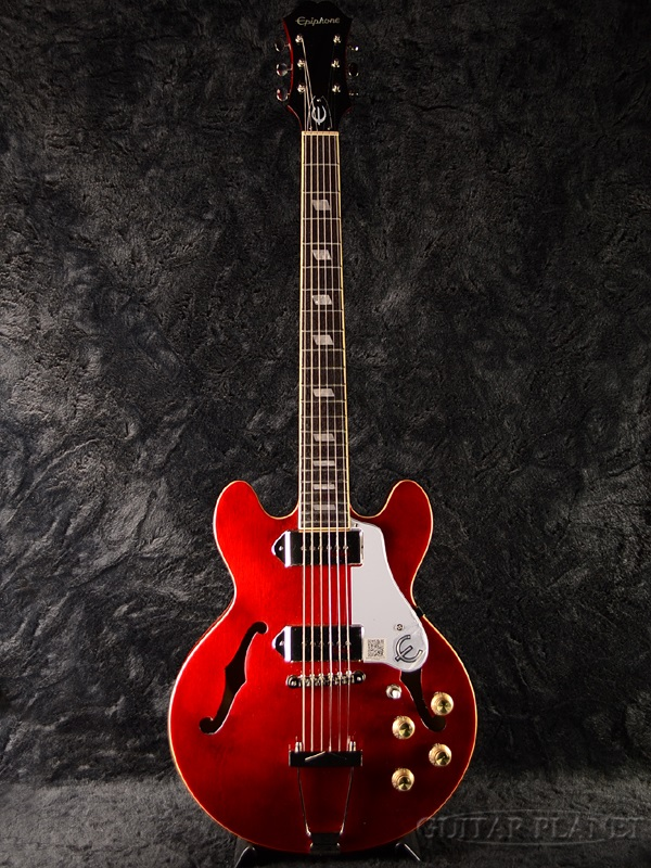Epiphone Casino Coupe Cherry 新品[エピフォン][カジノ][クーペ][チェリー,赤][セミアコ/フルアコ][Electric Guitar,エレキギター]