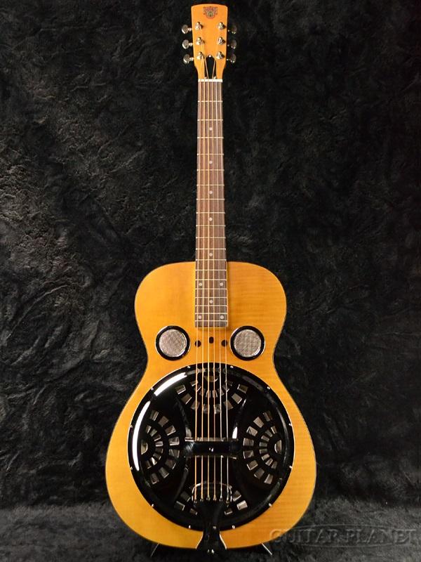 Epiphone Dobro Hound Dog Deluxe Round Neck 新品 ヴィンテージブラウン[エピフォン][ドブロ][ハウンドドッグ][デラックス][ラウンドネック][Vintage Brown,茶][Resonator,リゾネーター][アコギ,アコースティックギター,Acoustic Guitar]