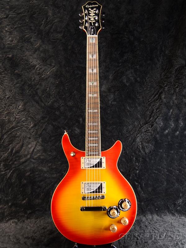 Epiphone DC Pro w/Coil Tap 新品 チェリーサンバースト[エピフォン][Faded Cherry Sunburst][Electric Guitar,エレキギター]