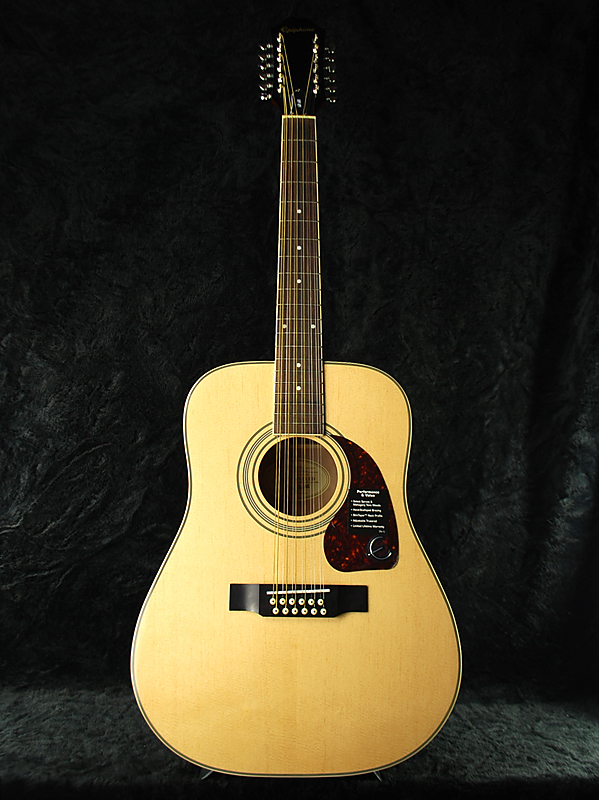 Epiphone DR-212 新品 ナチュラル[エピフォン][アコギ][Natural][Acoustic Guitar,アコースティックギター]