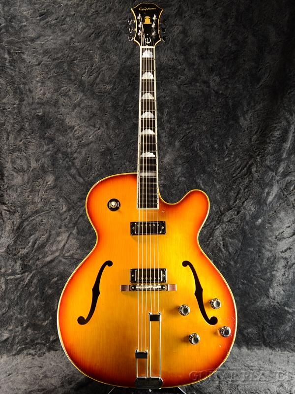 【中古】Epiphone E-252D Broadway -Sunburst- 1960年代製[エピフォン][ブロードウェイ][サンバースト][フルアコ/セミアコ][Electric Guitar,エレキギター]【used_エレキギター】