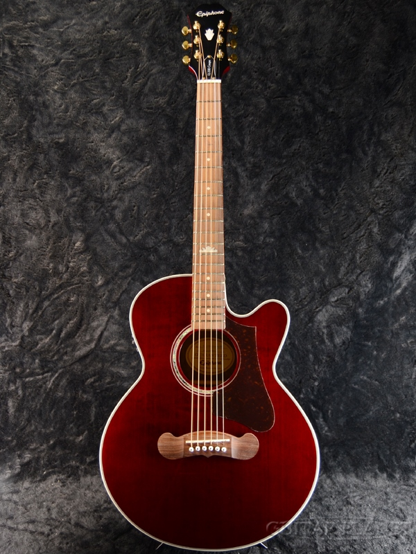 Epiphone EJ-200 Coupe Wine Red 新品[エピフォン][クーペ][WR,ワインレッド,赤][Electric Acoustic Guitar,アコースティックギター,アコギ,エレアコ][EJ200]