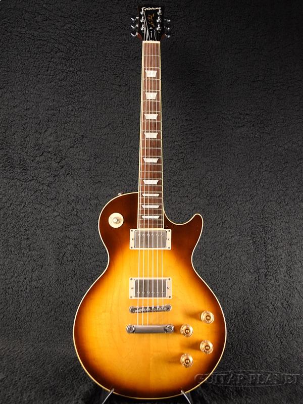 【中古】Epiphone Japan Elite (Honey Elite 50's Japan Les Paul Standard -HB (Honey Burst)- 2002年製[エピフォンジャパン][国産][ハニーバースト][レスポール][Electric Guitar,エレキギター]【used_エレキギター】, 横須賀市:15618d3b --- sophetnico.fr