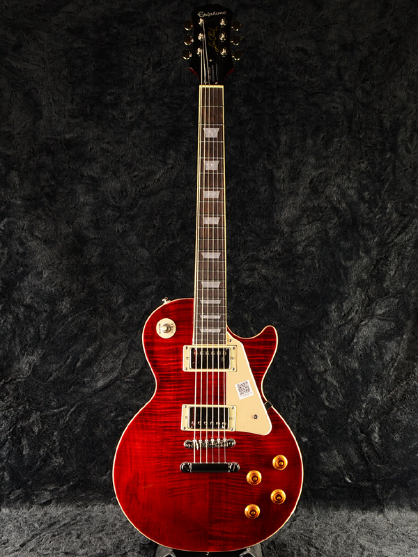 Epiphone Les Paul Standard Plus-top Pro w/Coil Tap WR 新品 ワインレッド[エピフォン][レスポールスタンダード][Wine Red,赤][LP STD CS][エレキギター,Electric Guitar]_nl