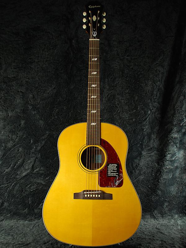 guitar planet rakuten global market epiphone inspired by 1964 texan antique natural brand new. Black Bedroom Furniture Sets. Home Design Ideas