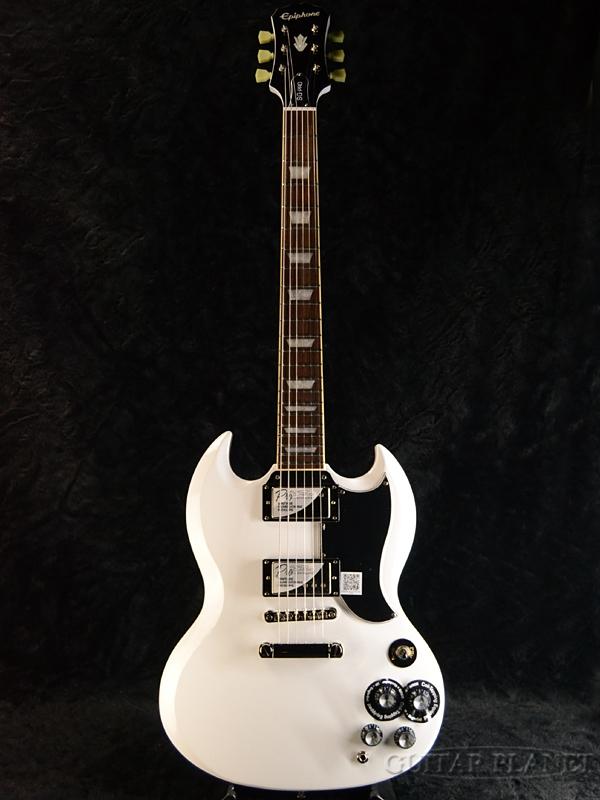 Epiphone G-400 Pro -Alpine White- 新品[エピフォン][ホワイト,白][SG][エレキギター,Electric Guitar][G400]