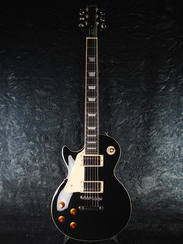 【ERNIE BALL4点セット付】 Epiphone Les Paul Standard Lefty 新品 エボニーブラック[エピフォン][レスポールスタンダード][LH,左用,レフティー][Ebony Black,黒][LP STD][エレキギター,Electric Guitar]