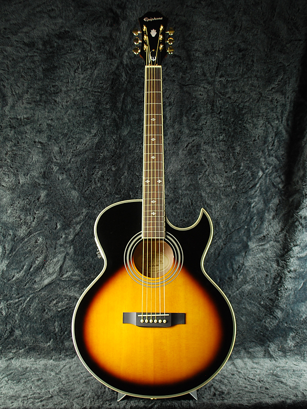 [Epiphone, Epiphone PR-5E brand new vintage sunburst, Vintage Sunburst Electric Acoutic Guitar, acoustic-electric guitars acoustic