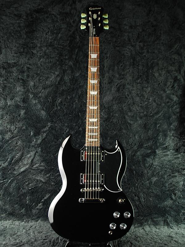 guitar planet epiphone g 400 pro brand new ebony epiphone ebony black black black. Black Bedroom Furniture Sets. Home Design Ideas