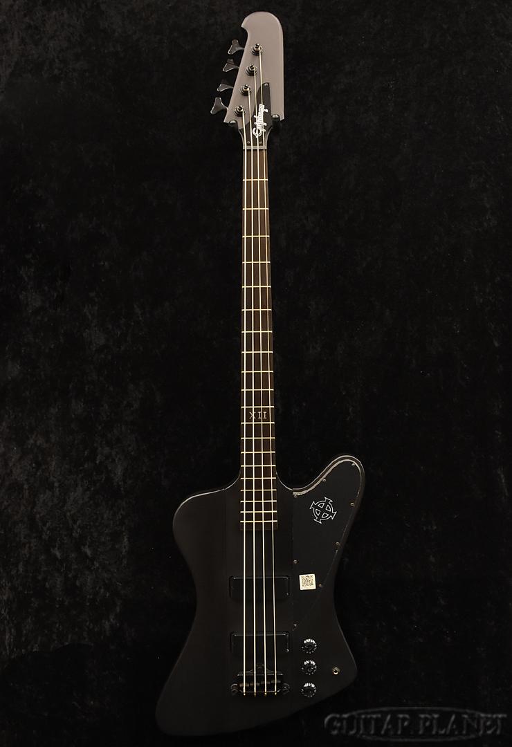 【中古】Epiphone Goth Thunderbird-IV -Pitch Black-[エピフォン][サンダーバード][ブラック,黒][エレキベース,Electric Bass]【used_ベース】