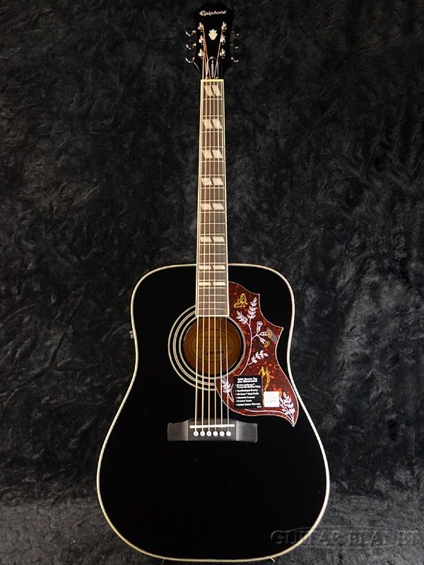 Epiphone Hummingbird Pro Black : guitar planet brand new epiphone hummingbird pro eb epiphone hummingbird pro black ebony ~ Hamham.info Haus und Dekorationen