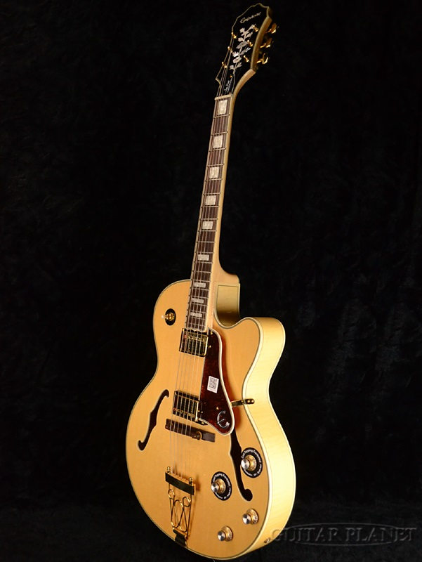 Epiphone Joe Pass Emperor II Pro brand new natural [Epiphone], [Joe Pass]  [emperor] [flak] [archtop] [Natural] [electric guitar, Electric Guitar,
