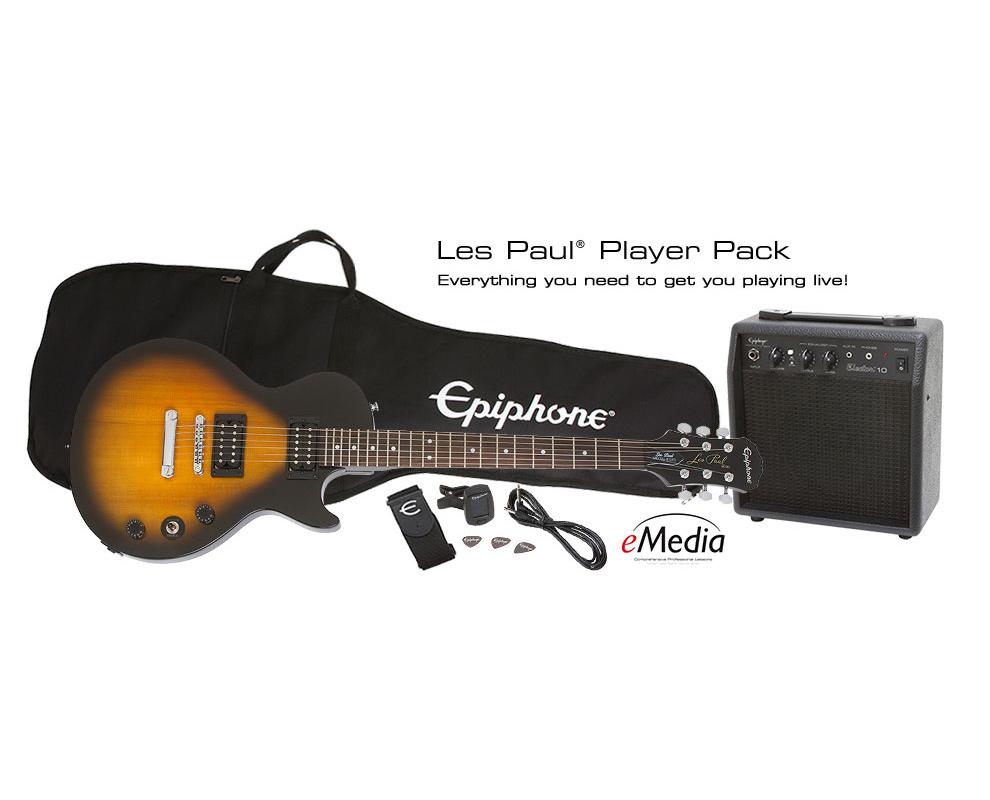 【お得な入門セット付!!】Epiphone Player Pack / Les Paul Special II Vintage Sunburst 新品[エピフォン][ビンテージサンバースト][レスポール][Electric Guitar,エレキギター]