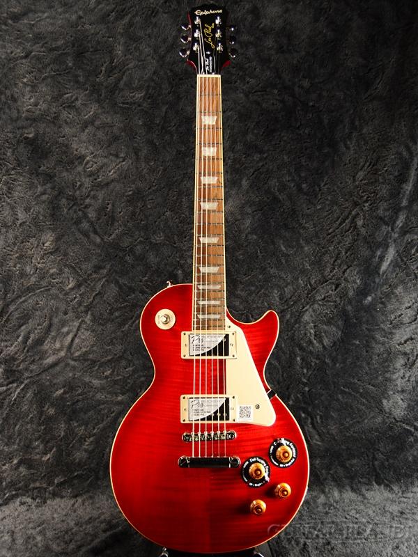 Epiphone Les Paul Standard Plus-top Pro w/Coil Tap 新品 ブラッドオレンジ[エピフォン][レスポールスタンダード][Blood Orange,Red,赤,木目][LP STD][エレキギター,Electric Guitar]_nl