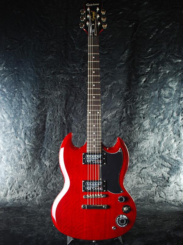 Epiphone SG 特别新樱桃 [Epiphone]、 [选择] [特别] [樱桃,红色,红色,红色] [电吉他,电吉他,