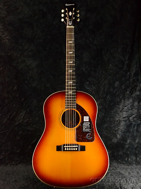 Epiphone Inspired by 1964 Texan Vintage Cherryburst 新品 PU搭載[エピフォン][テキサン][ヴィンテージチェリーバースト][エレアコ][Acoustic Guitar,アコースティックギター]