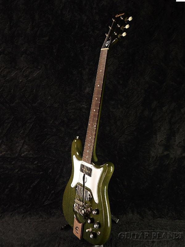 Epiphone 限量版精英 Tamio 奥田皇冠外套全新 [Epiphone],[日本] [消歧] [皇冠] [绿色,绿色,绿色] [电吉他、 电吉他]