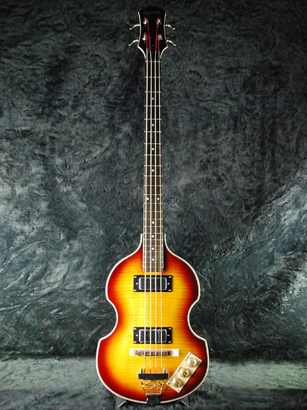 Epiphone Viola Bass 新品 ヴィンテージサンバースト[エピフォン][ヴィオラベース,バイオリンベース,Violin][Vintage Sunburst][Electric Bass,エレキベース]_epf