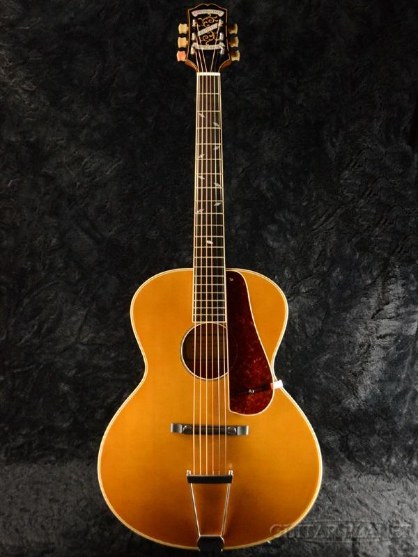 Epiphone Masterbilt 世纪集合天顶老式自然全新 pickguard 与 [Epiphone] [世纪] [顶] [vintagenatural] [电力] [原声吉他,吉他,吉他,民谣吉他,民谣吉他,