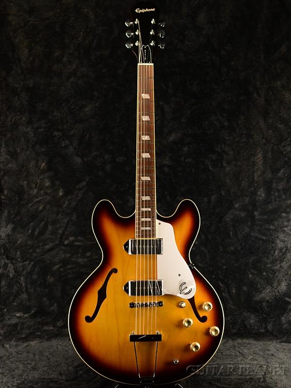 Epiphone Elitist 1965 Casino-Vintage Sunburst-#T190855 新品[エピフォン][日本製][エリーティストカジノ][ビンテージサンバースト][フルアコ][Electric Guitar,エレキギター]