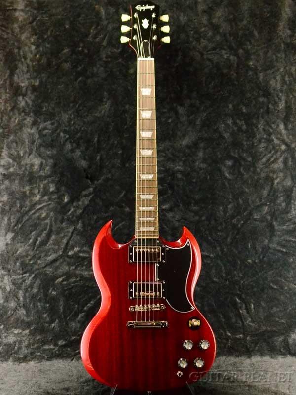 【2020年モデル】Epiphone SG Standard '61 -Vintage Cherry- 新品 チェリー[エピフォン][Red,レッド,赤][SG][エレキギター,Electric Guitar]