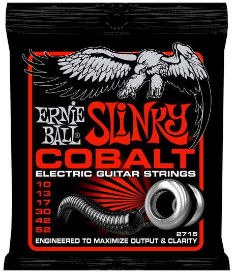 【12セット】ERNIE BALL 10-52 #2715 Cobalt Skinny Top Heavey Bottom Slinky[アーニーボール][コバルト][スキニートップヘビーボトムスリンキー][エレキギター弦,String]