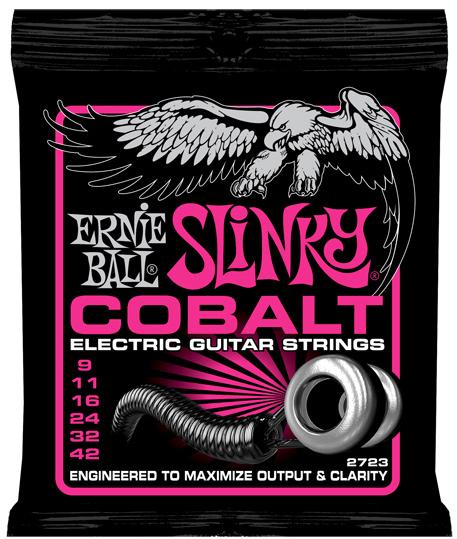 【12セット】ERNIE BALL 09-42 #2723 Cobalt Super Slinky[アーニーボール][コバルト][スーパースリンキー][エレキギター弦,String]