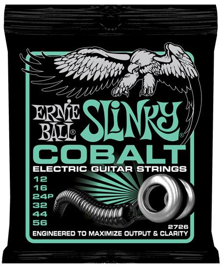 【12セット】ERNIE BALL 12-56 #2726 Cobalt Not Even Slinky[アーニーボール][コバルト][ノットイーブンスリンキー][エレキギター弦,String]