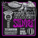 【12セット】ERNIE BALL 11-48 #3120 Coated Power Slinky[アーニーボール][コーティング弦][パワースリンキー][エレキギター弦,string]